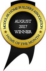 Modular Home Builders Association August 2017 Winner Home of the Month