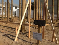 The Uplifting Story - Pilings prepare for Uplifted Modular Construction